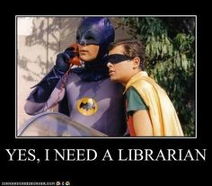 yes I need a librarian
