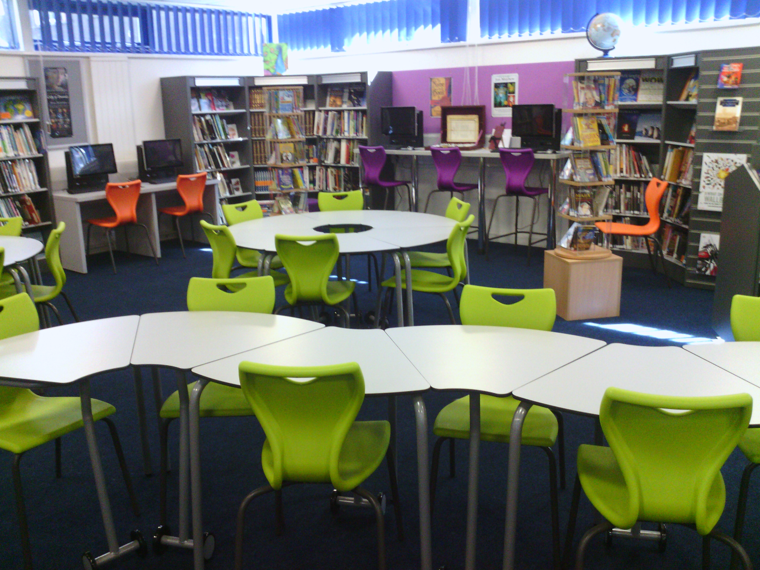 Safe in the library slworkshop - Great contemporary school furniture ...