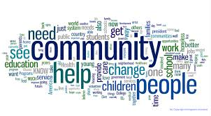 words for community service