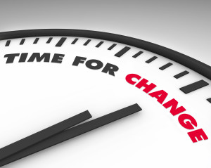 Time for Change - Clock