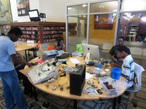 Makerspace at Detroit Public Library