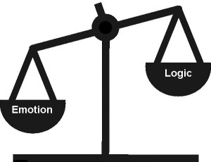 emotion v logic